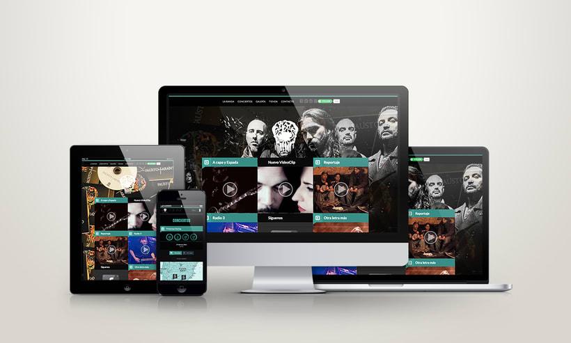 Diseño de web. Fausto Taranto 1