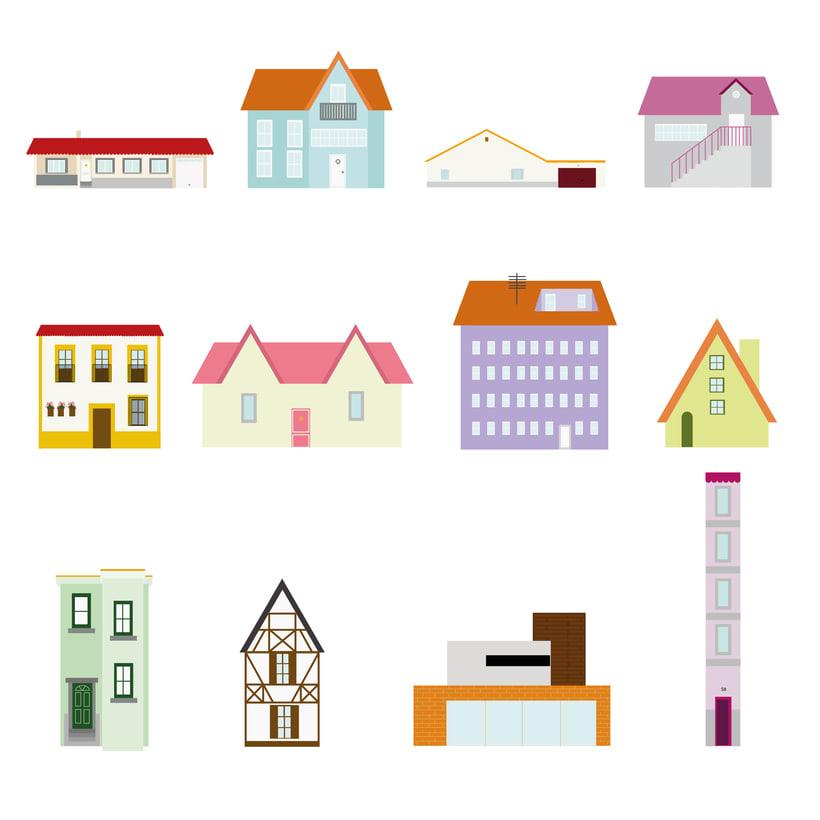 Casas ilustradas 1