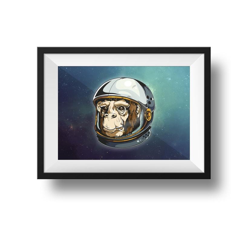 Space Chimp 0