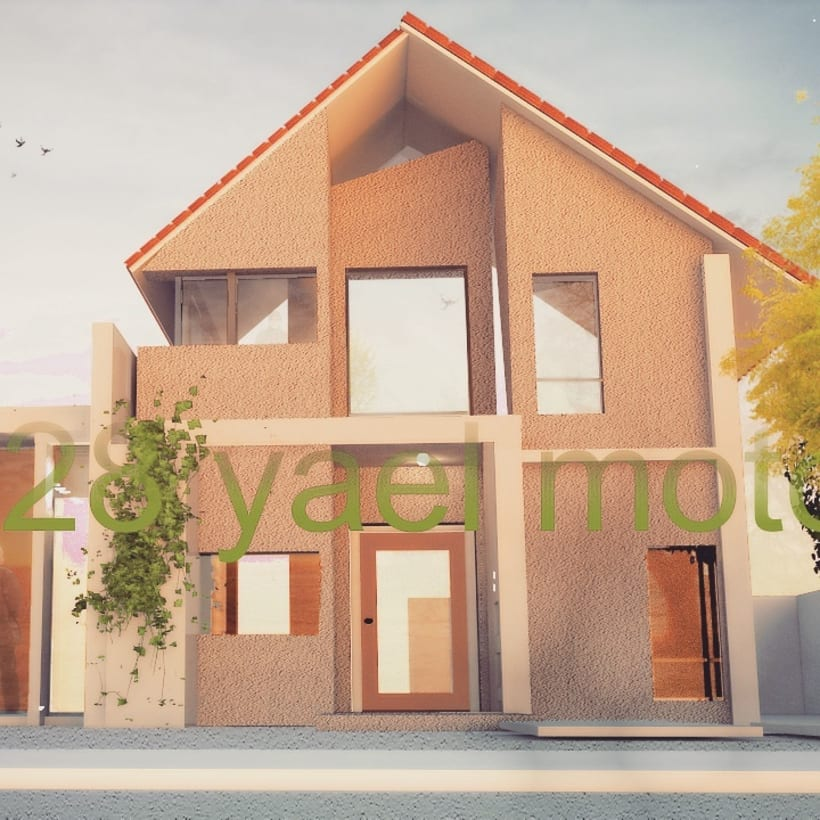 3D house. Big -1