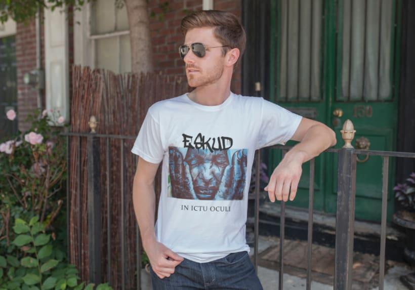 Diseño Logotipo y camisetas. ESKUD (Hardcore) 1