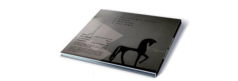 Diseño Logotipo y CD. Red Passenger (alternative music) 1