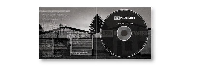 Diseño Logotipo y CD. Red Passenger (alternative music) 2