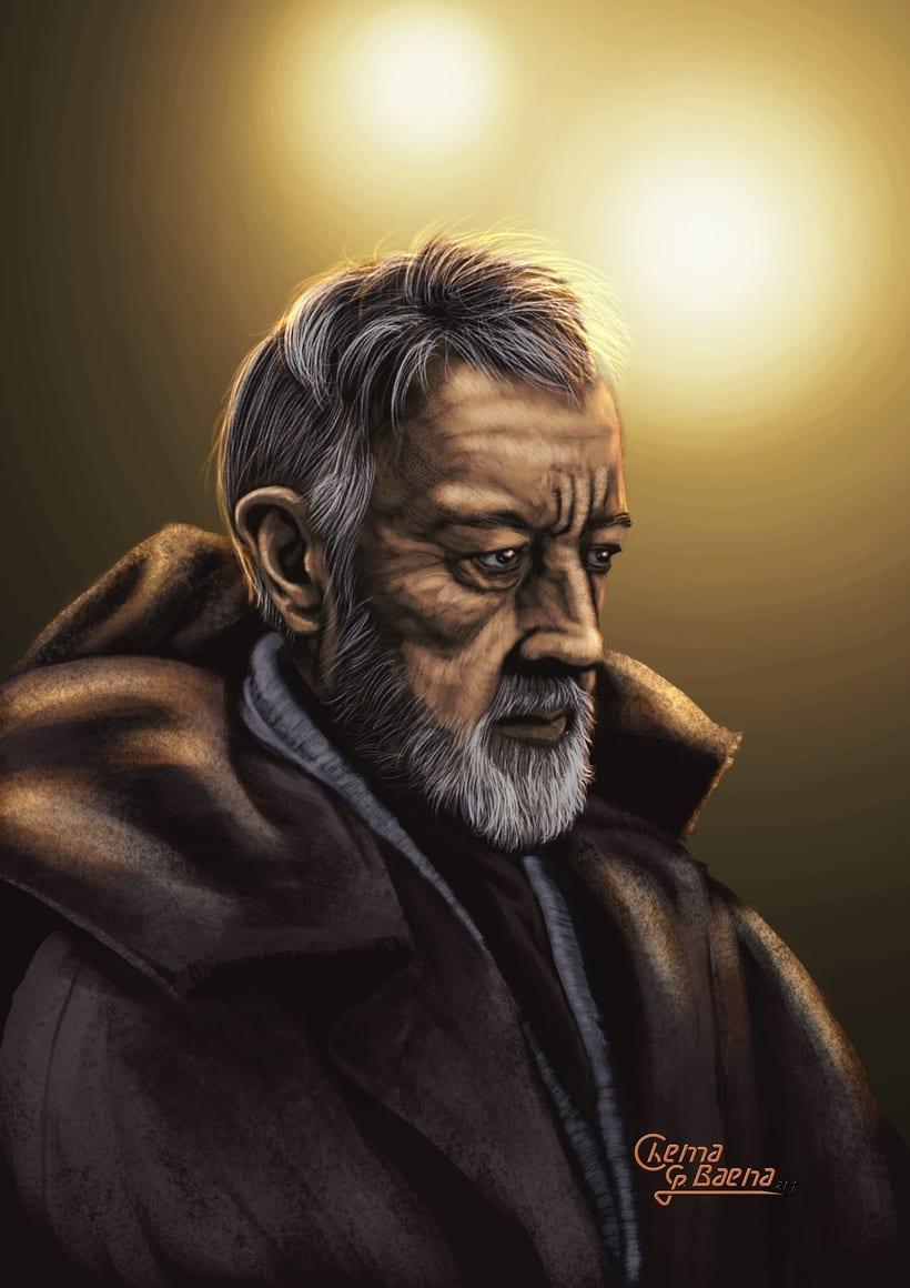 Obi Wan Kenobi - Fast Paint -1