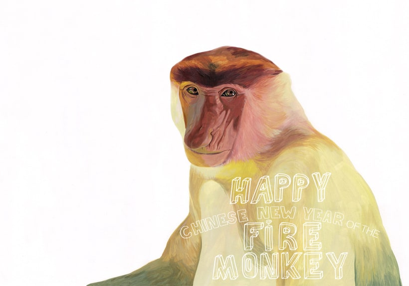 happy chinese new year of the monkey -1