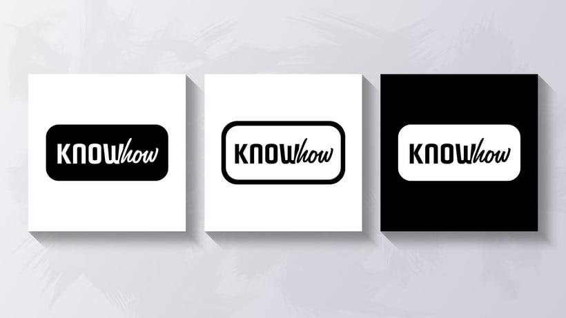 Know How - Logotipo para app 1