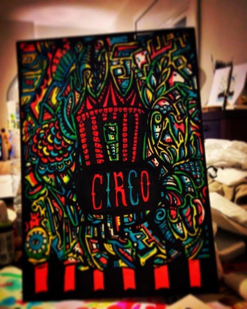 Ilustración : Circo -1