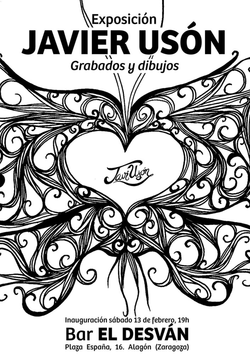 Exposición de Grabado y Dibujo en Alagón 0