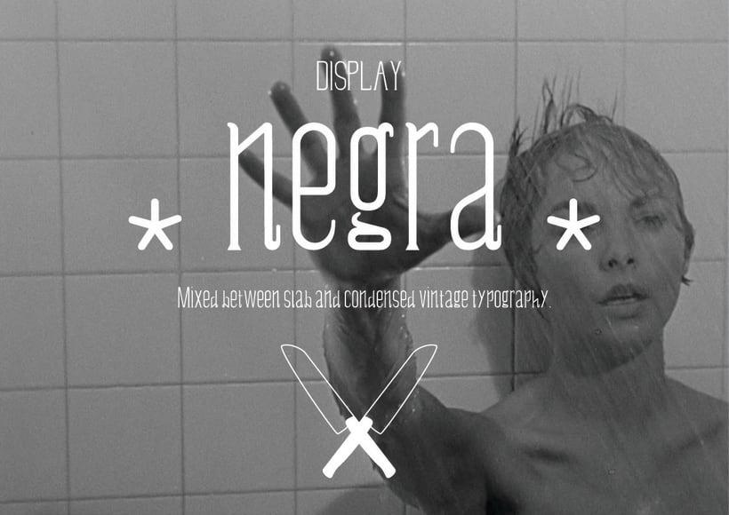 Negra - Display typography 0
