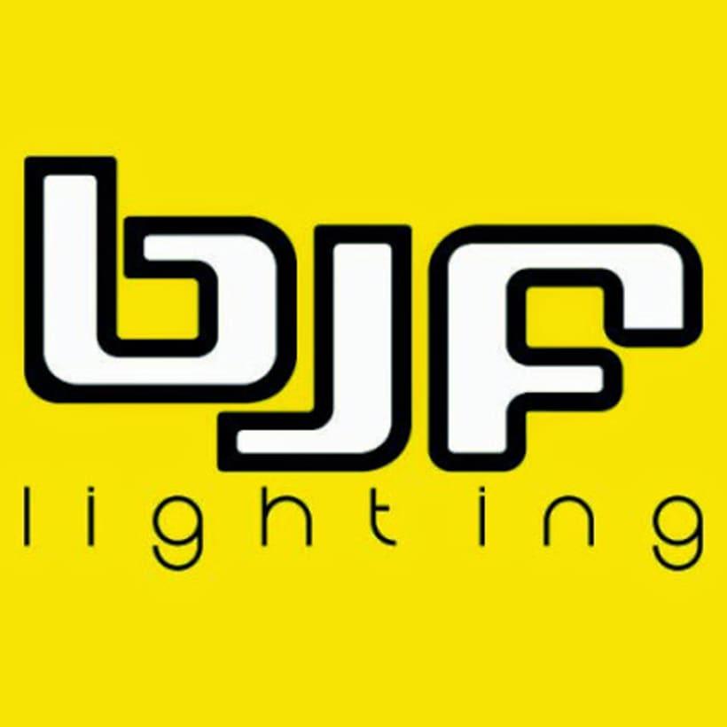 Diseño de Logotipo Bjf lighting 0