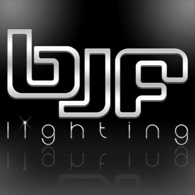 Diseño de Logotipo Bjf lighting 1