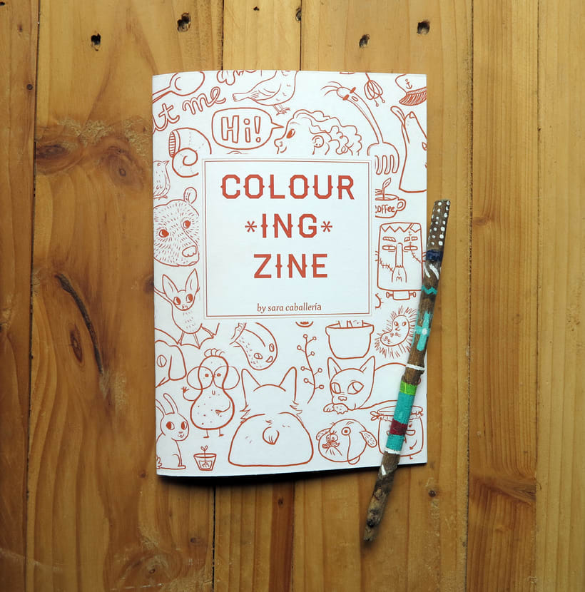 Colouring Zine 1