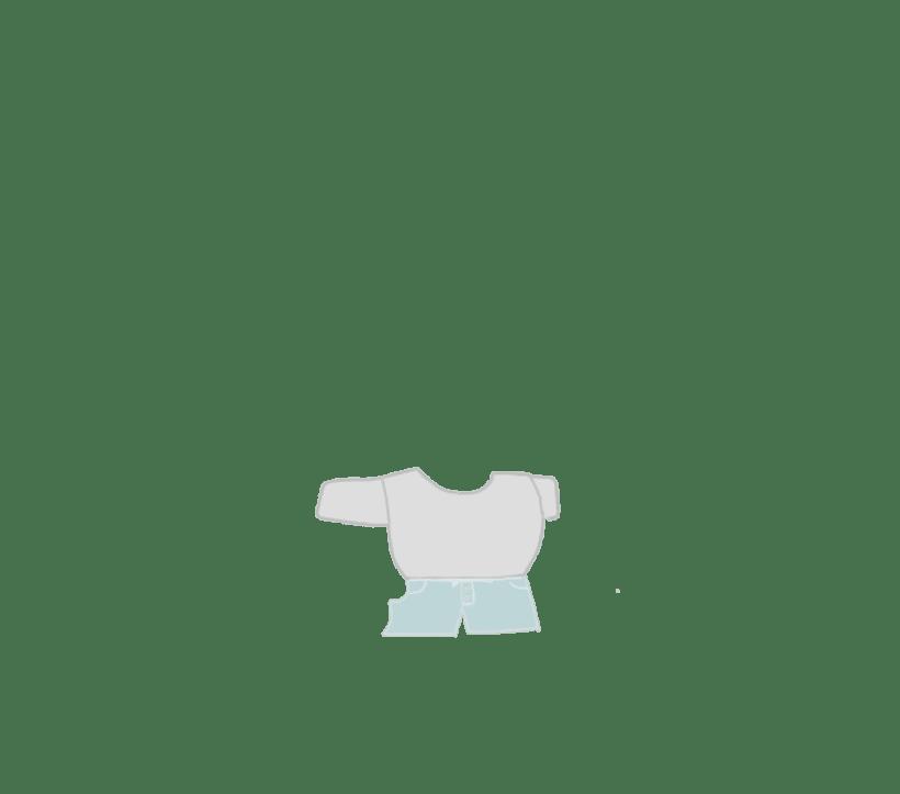 Diseñando ropa..... Uso Paint tool sai 7