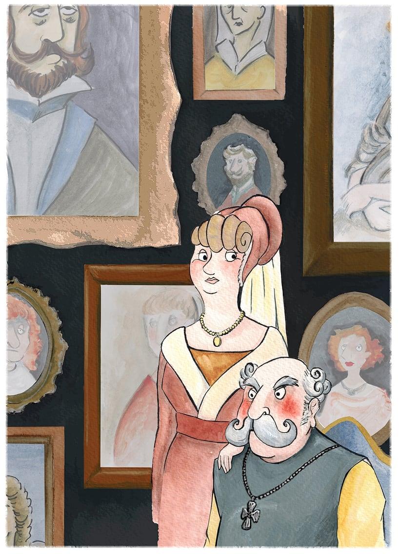 Ilustraciones, El Conde Sisebuto 1