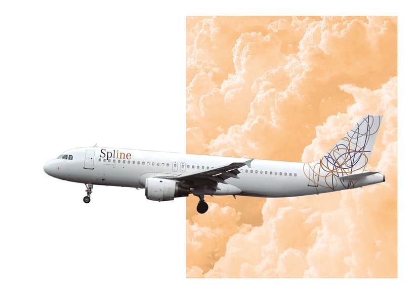 Spline_ identidad corporativa de una aerolínea 5