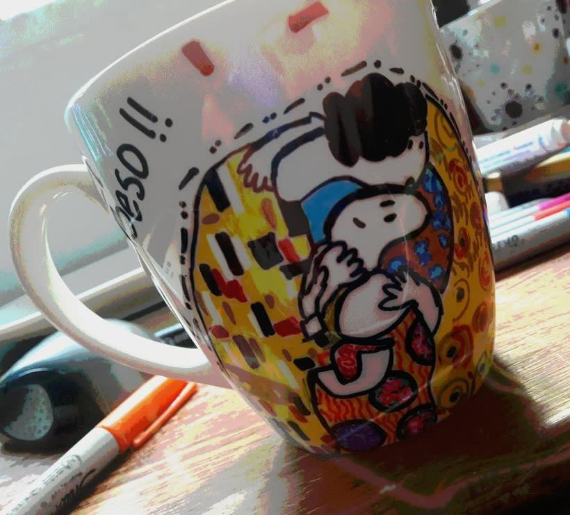 Pintura de mugs, loza, cristalería en general  0