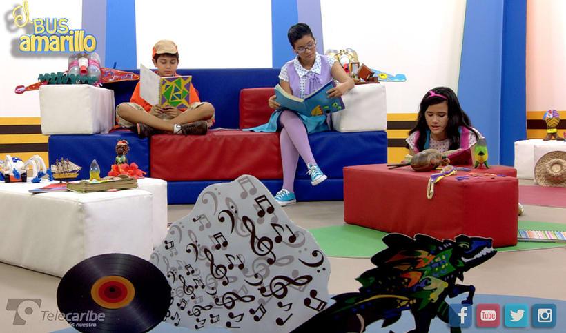 """Redes sociales y arte """"El Bus amarillo"""" -1"""