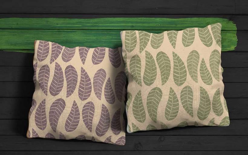 Hojarasca pattern 1