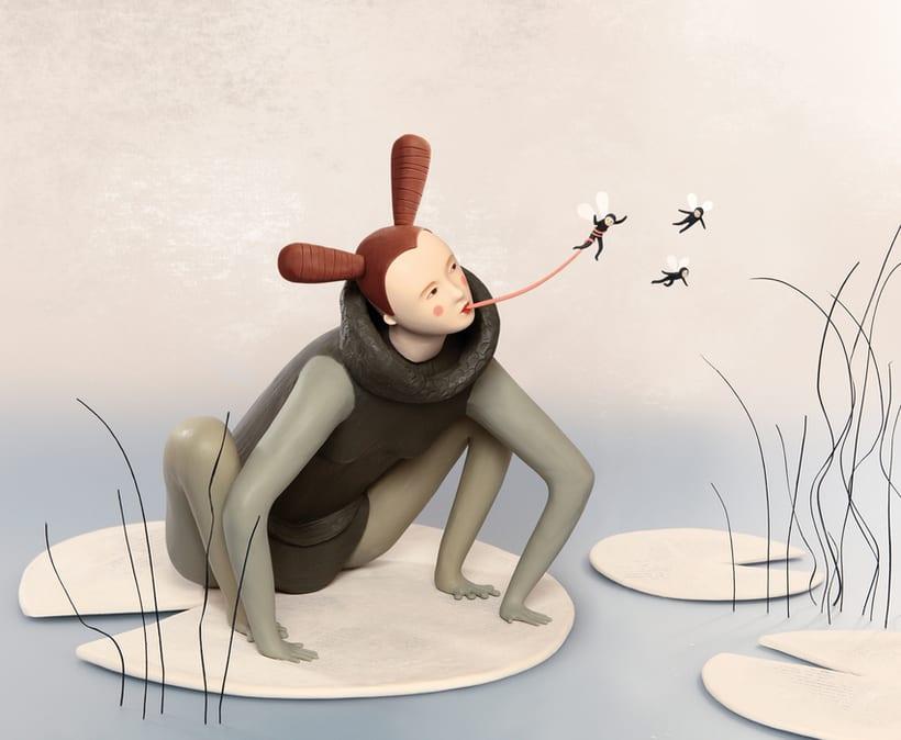 Irma Gruenholz y sus ilustraciones con plastilina 5