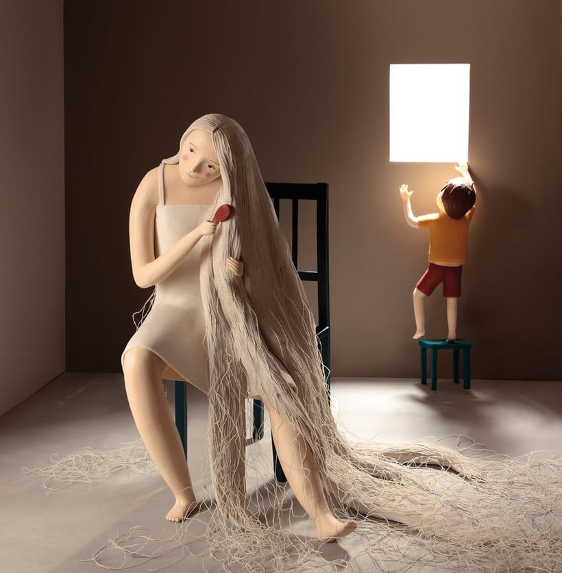 Irma Gruenholz y sus ilustraciones con plastilina 6