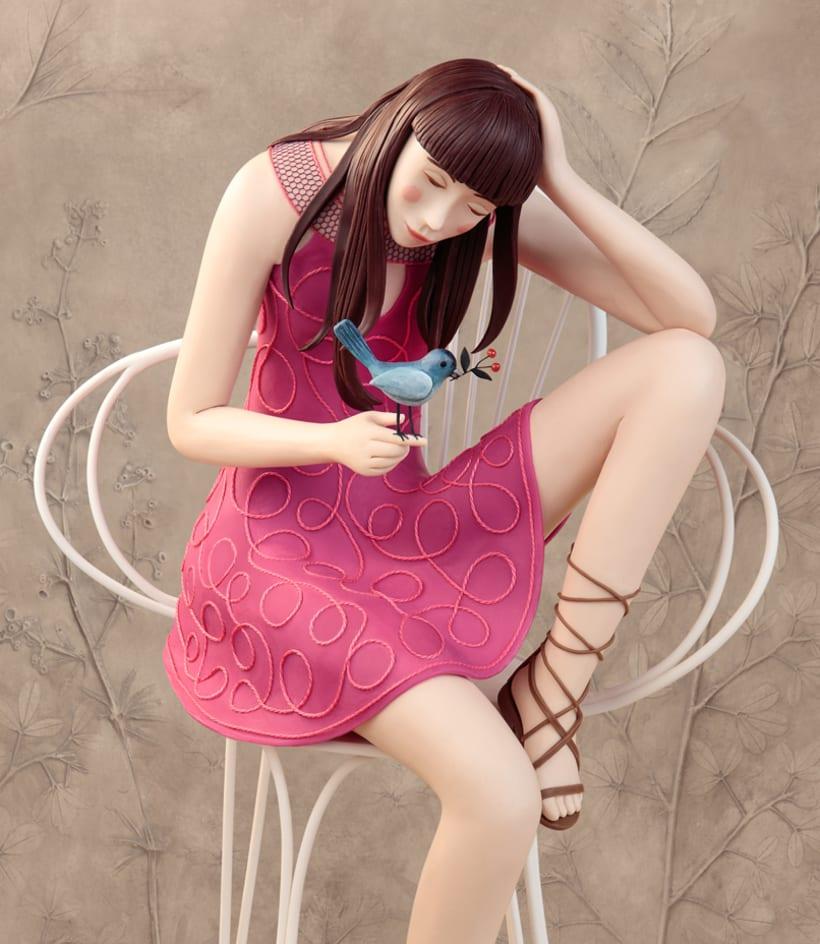 Irma Gruenholz y sus ilustraciones con plastilina 7