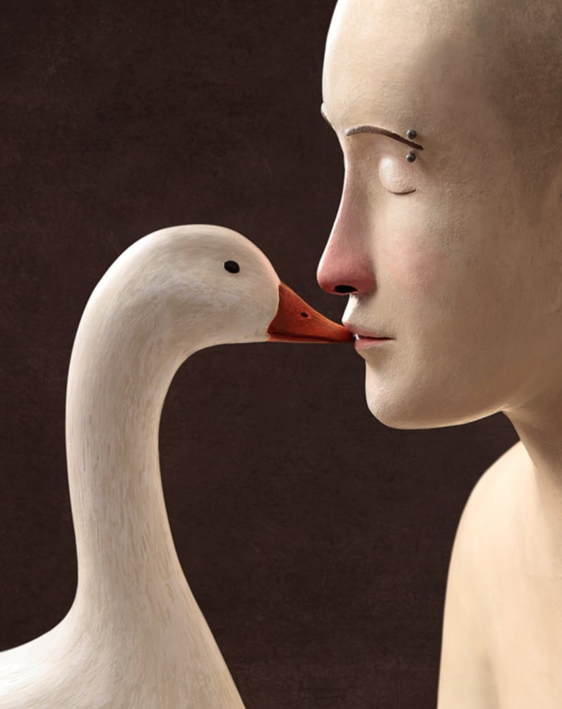 Irma Gruenholz y sus ilustraciones con plastilina 12