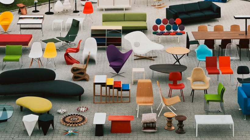 Un documental sobre la historia de Vitra. 6