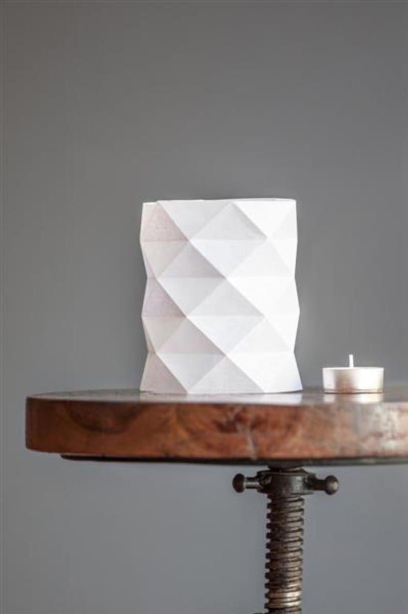 Origami lamps by Cartoncita 1