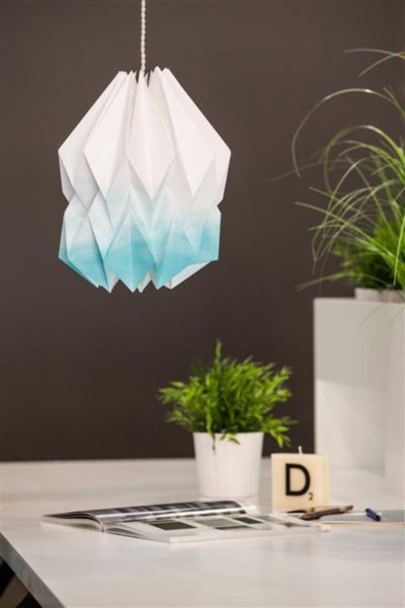 Origami lamps by Cartoncita 2