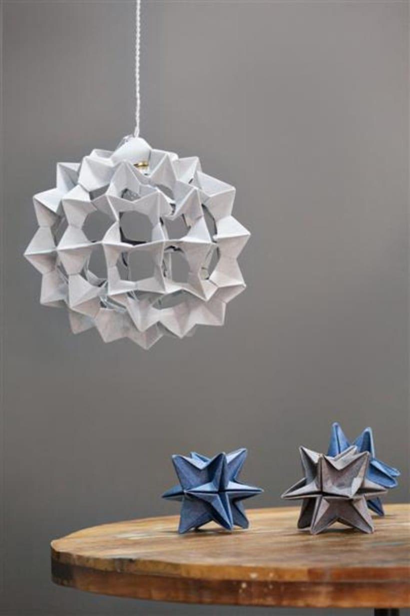 Origami lamps by Cartoncita 3