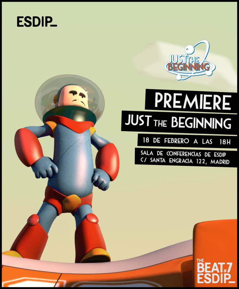 Premiere del corto de animación Just The Beginning 2
