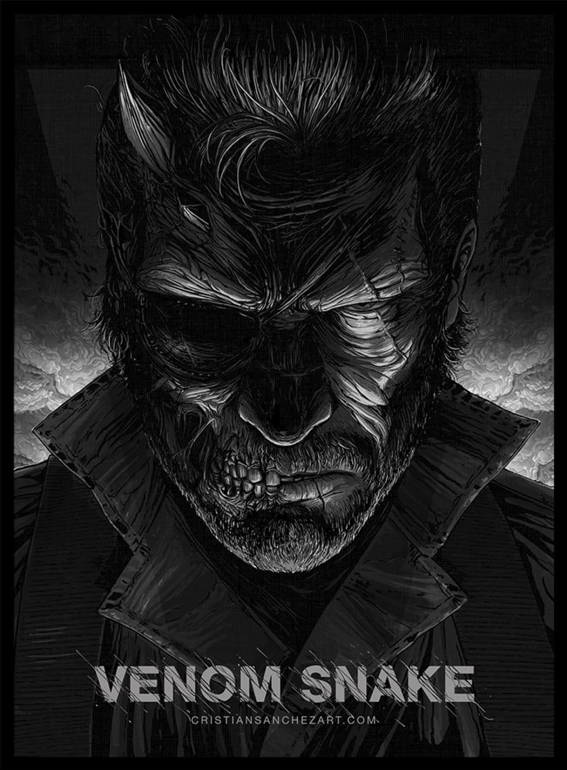 Venom Snake - MetalGearSolid 0