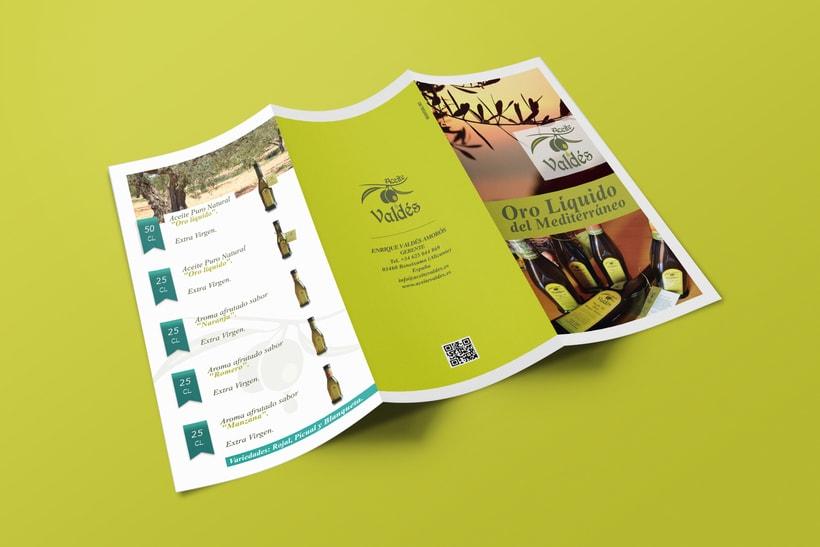 Tríptico promocional de aceite de oliva -1