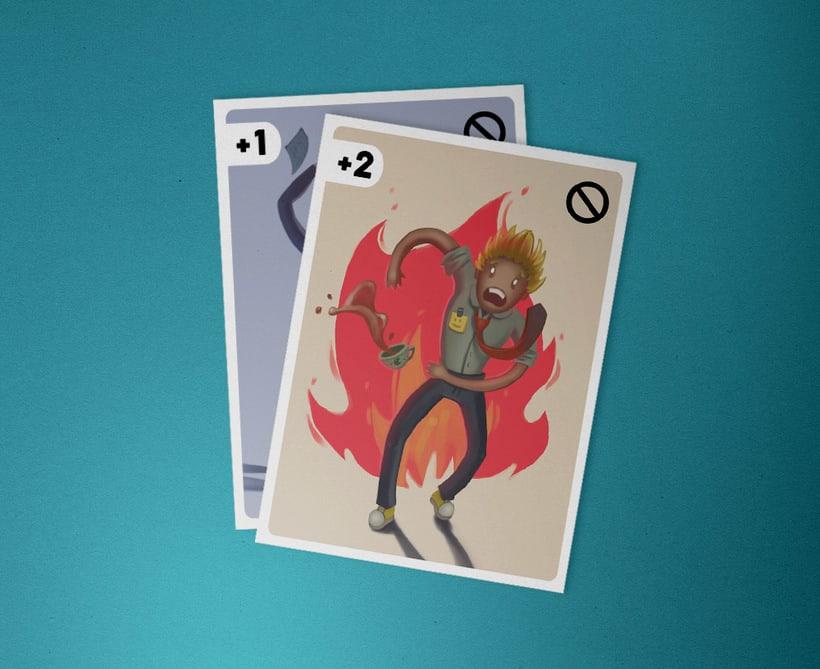 Ilustración de cartas  0