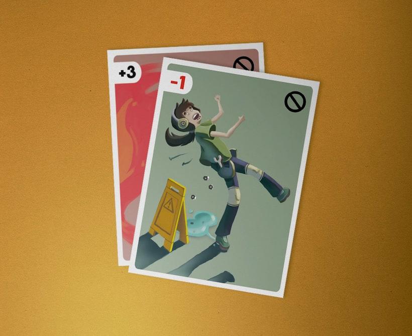 Ilustración de cartas  2