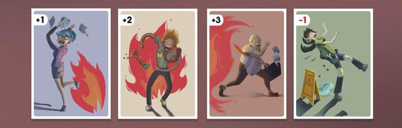 Ilustración de cartas  1