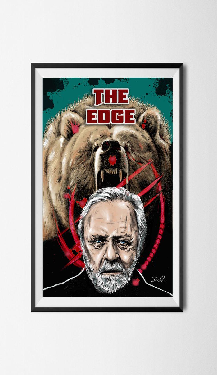 """Mi Proyecto del curso: Ilustración artística y comercial:  """" THE EDGE""""o"""" EL DESAFIO"""". 0"""