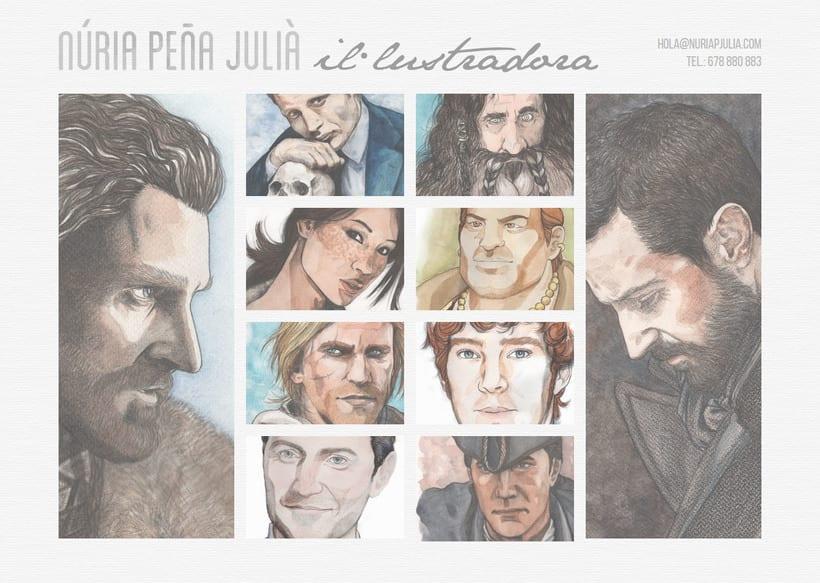 Núria Peña Julià :: Diseño y maquetación web + tarjetas de visita 1