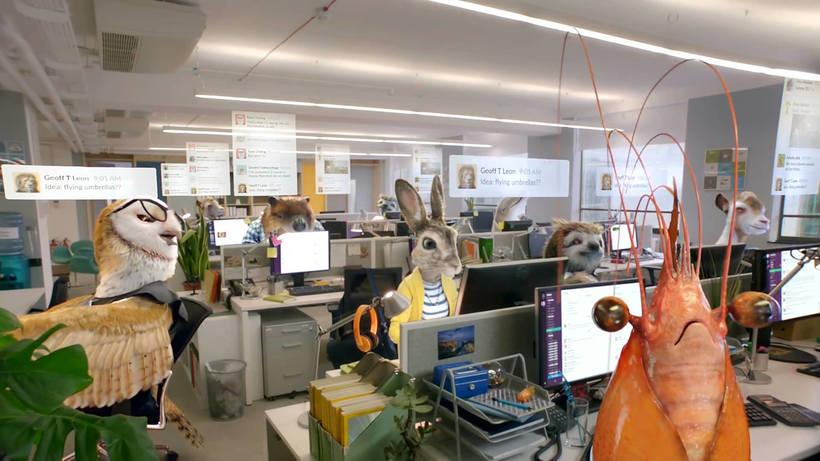 Slack muestra la vida silvestre de las agencias publicitarias 2