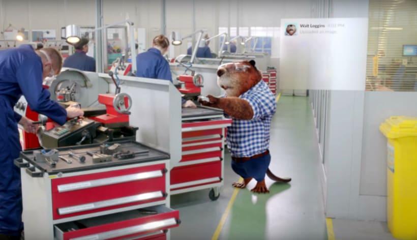 Slack muestra la vida silvestre de las agencias publicitarias 4