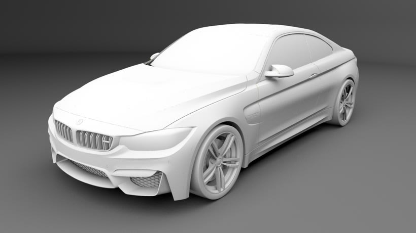 Modelado BMW M4 (Alias Autostudio) A Class Surfacing 2