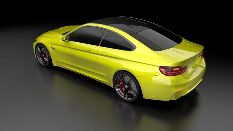 Modelado BMW M4 (Alias Autostudio) A Class Surfacing 4