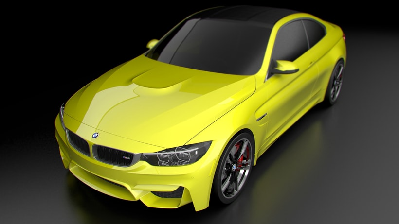 Modelado BMW M4 (Alias Autostudio) A Class Surfacing 5