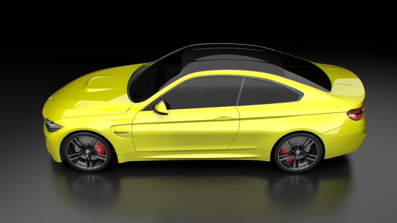 Modelado BMW M4 (Alias Autostudio) A Class Surfacing 6
