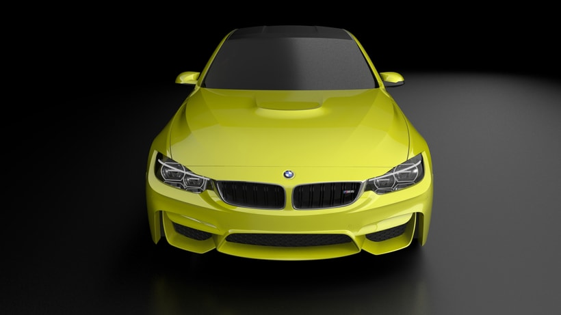 Modelado BMW M4 (Alias Autostudio) A Class Surfacing 7