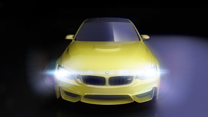 Modelado BMW M4 (Alias Autostudio) A Class Surfacing 0