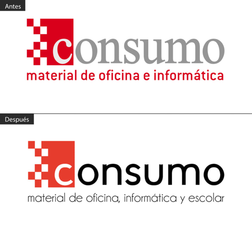 Rediseño Logo Consumo  y Papelería corporativa 1