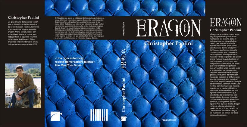 Eragon - Rediseño de cubierta 1