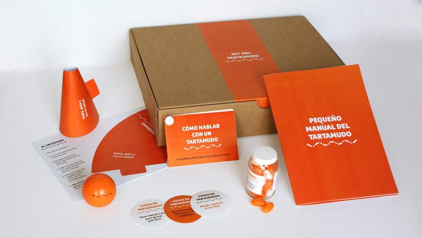 Kit del tartamudo - Branding 1