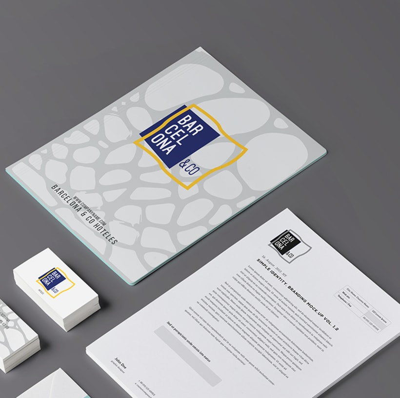 Proyecto imagen corporativa Barcelona&Co 2